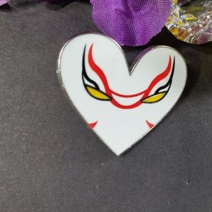 4/$25 Disney Big Hero 6 Villain Heart Yokai Pin